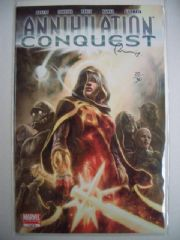 Annihilation Conquest #1 Dynamic Forces Signed Tom Raney COA Ltd 30 DF